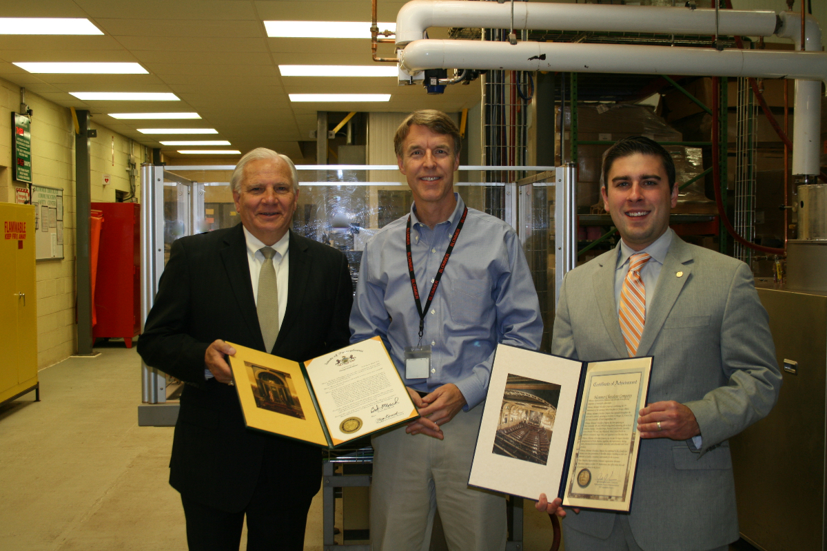 Mensch Recognizes Blommer Chocolate Company's 75th Anniversary ...