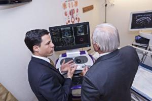 Dr Angelo Baccala and Senator Bob Mensch